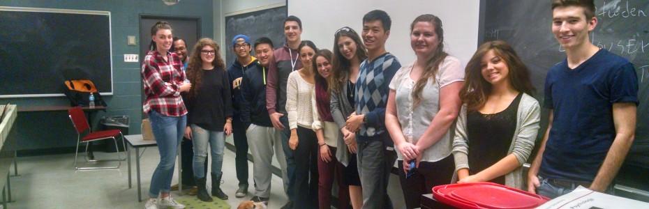 Toronto Ryerson - Undergraduate Psychology Class Lecture