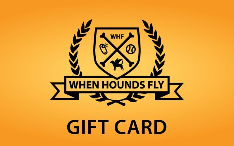 Holiday Gift Idea - Dog Training Gift Card